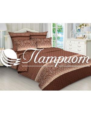 КПБ 2.0 спальный с Евро простыней, набивная бязь 125 гм2 5070