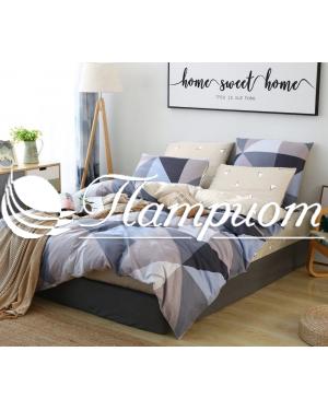 КПБ 1.5 спальный, поплин 1736