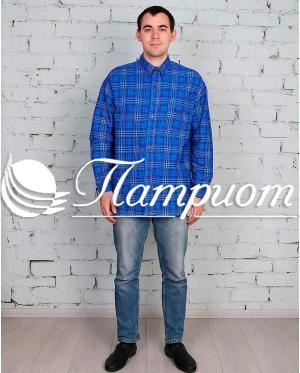Рубашка мужская фланель