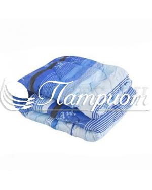 Одеяло холлофайбер 1.5 спальное в бязи 125 г/м2 (Зима)